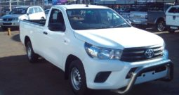 2017 Toyota Hilux 2.4 GD S/C For Sale in Boksburg